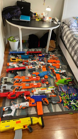 Nerf guns and bullets ON SALE!!! for Sale in Irvine, CA