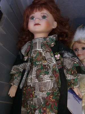 Antique Porcelain Doll Collection! MANY of them.... for Sale in Clovis, CA