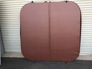 "New Brown 77"" X 77"" Hot Tub/Spa Cover for Sale in Fresno, CA"