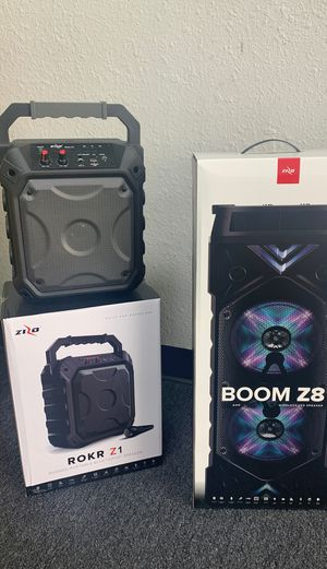 Zizo Bluetooth speakers!! for Sale in Victoria, TX