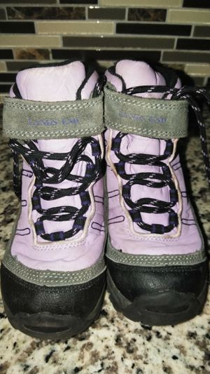 Lands' End Toddler Girl Winter/Snow boots size 10 for Sale in Las Vegas, NV