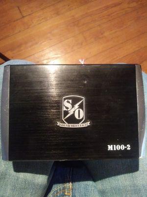 Sound ordinance amplifier for Sale in Petersburg, VA
