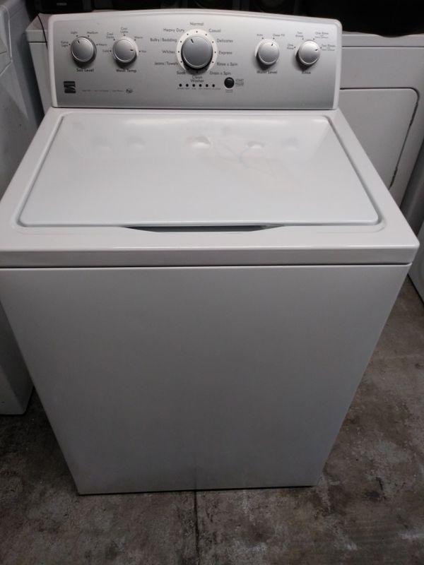 Kenmore washee/lavadora
