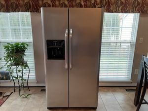 2016 Frigidaire side by side refrigerator freezer for sale for Sale in Charles Town, WV