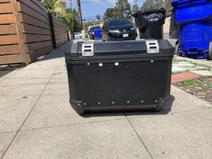 Trax aluminum motorcycle boxes for Sale in San Diego, CA