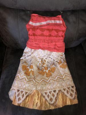 Moana costume size 4-6x for Sale in Suisun City, CA