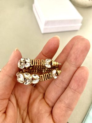 Authentic Dior Earrings with box for Sale in Arcadia, CA