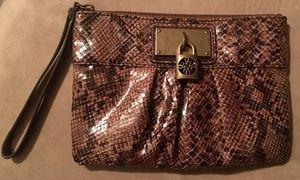Vera Wang Faux Snakeskin Wristlet for Sale in Austin, TX