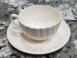 2 spode teacup and saucer sets Chelsea Wicker pattern for Sale in Port Orchard, WA