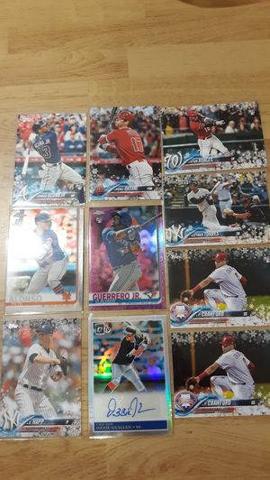 2018-2019 Baseball Rookie Card Lot for Sale in Joint Base Lewis-McChord, WA