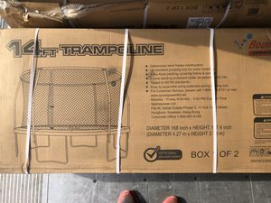 NEW 14 ft trampoline*** read ad*** for Sale in Fresno, CA