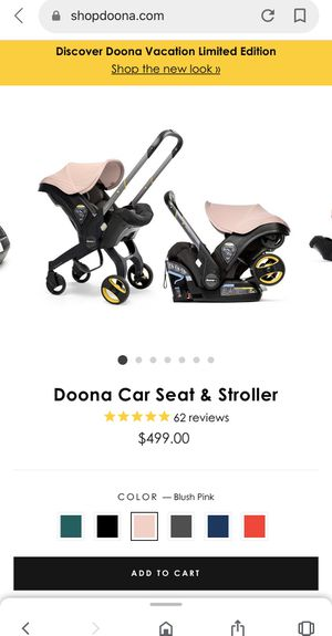 Doona car seat for Sale in Victorville, CA