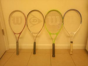 Tennis rackets great condition for Sale in Fresno, CA