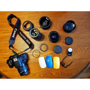 Rebel T4i camera for Sale in Washington, PA