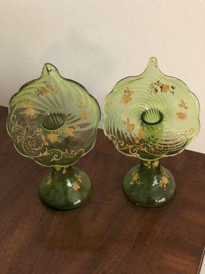 Antique jack-in-the-pulpit vases for Sale in Stuart, FL
