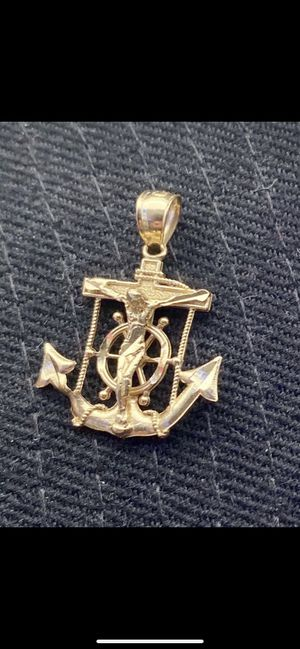 14k anchor pendent/charm for Sale in Georgetown, TX