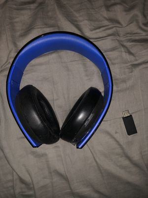 Sony PlayStation Gold Wireless Stereo Headset for Sale in Philadelphia, PA
