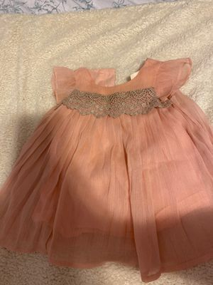 Pink/Blush dress 6 months for Sale in Philadelphia, PA