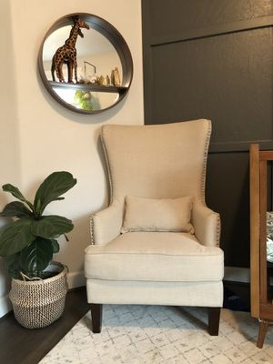 Wayfair wingback chair for Sale in Visalia, CA