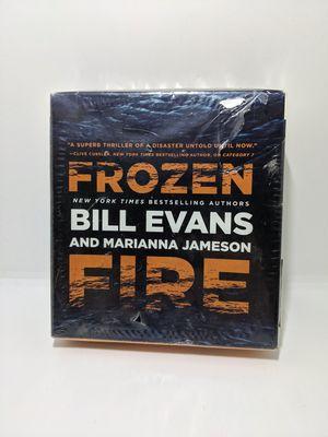 Brand New Frozen Fire Jameson Marianna Bill Evans CD Audio Book Thriller DVDC for Sale in Webster, MN
