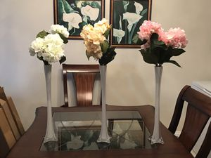3 Beautiful Modern Vases for Sale in Hollywood, FL