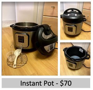 Instant pot 7-in-1 electric pressure cooker, 8 Quart for Sale in Seattle, WA