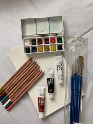 Winsor & Newton Watercolor Set for Sale in Fairfield, CA