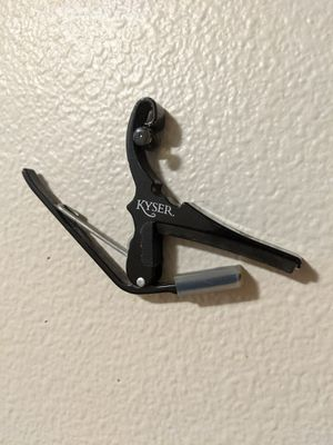 Kyser Guitar Capo for Sale in LEWIS MCCHORD, WA