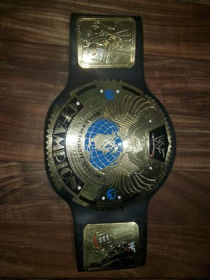 World heavy weight championship belt for Sale in Manchester, CT