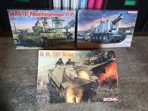 1/35 Scale rare Armor kits, Tamiya DML Italeri Tristar AFV Club ICM etc for Sale, used for sale  McKinney, TX