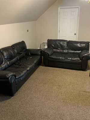 Leather Couch Set for Sale in Rockvale, TN