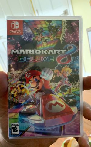 BRAND NEW Mario Kart 8 Deluxe for Nintendo Switch for Sale in Washington, DC