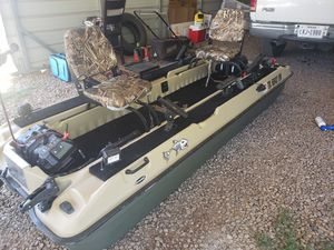 Customized Pelican Bass Raider 10E for Sale in Fritch, TX