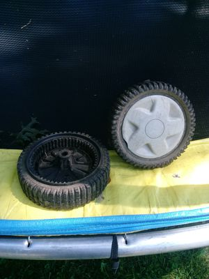Drive wheels craftsmen lawnmowers for Sale in Cleveland, OH