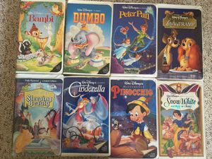 Disney VHS Tapes for Sale in Wyoming, MI