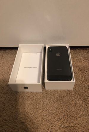 Apple IPhoneX 256GB for Sale in Chevy Chase View, MD