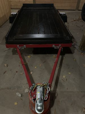 Custom Utility Trailer 4'x8' w/Tailgate for Sale in Nashville, TN