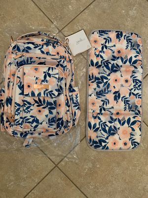 JuJuBe Whimsical Watercolor Be Right Back Diaper Bag, NEW for Sale in Goodyear, AZ
