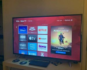 TCL ROKU 55 INCH TV 4K UHD for Sale in Concord, NC