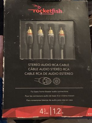 Stereo audio RCA cable for Sale in Providence, RI