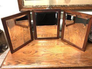 Antique Tri Fold shaving mirror for Sale in San Diego, CA