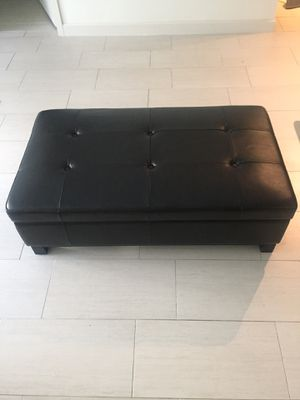 Z Gallerie Storage Ottoman for Sale in Tampa, FL