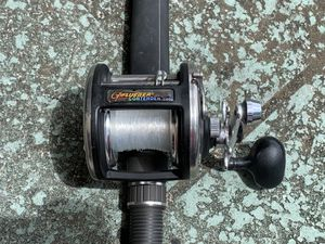 Pflueger Contender C50 Fishing Reel Combo on a Coastal Classic Offshore Rod for Sale in Pompano Beach, FL
