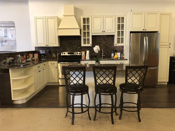 Kitchen Display - Cabinets and Cambria Countertop