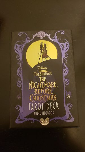 The Nightmare Before Christmas Tarot Card Deck for Sale in Queens, NY