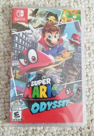 BRAND NEW Super Mario Odyssey nintendo Switch for Sale in Denver, CO