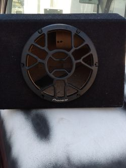 Pioneer Subwoofer Box for Sale in Lynwood,  CA
