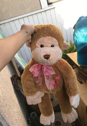 Stuffed monkey for Sale in Santa Fe Springs, CA