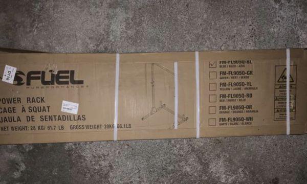 Fuel power squat rack