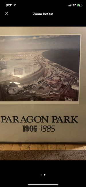 Paragon park picture for Sale in Weymouth, MA